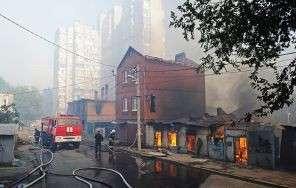 Ростов подожгли специально, уверенно утверждают горожане