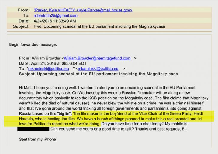 Как американский «супершпион по России» раздувал ложь о деле Сергея Магнитского