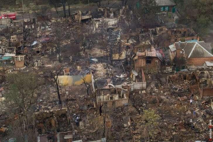 Пожар в центре Ростова – рецепт, как выгнать нищебродов с дорогой земли