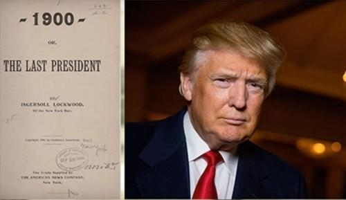 Книга 1900 года. Трамп – последний президент США. Пророчество