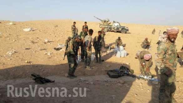 Сирия: правительственная армия, «Тигры» и ВКС России сжимают котёл, завершая разгром ИГИЛ | Русская весна