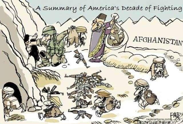 Трамп и новый афганский капкан для США. Александр Роджерс