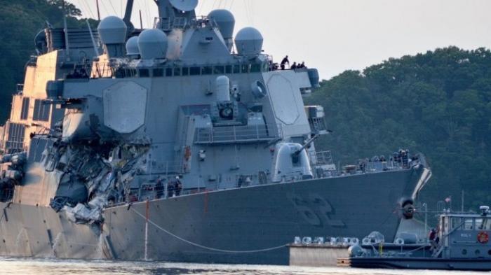 Таран американского эсминца: одна любопытная запись того, как все было