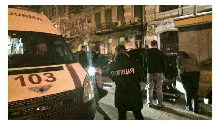 Киев: застрелили гражданина Израиля возле синагоги, майдауны