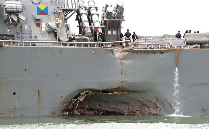 Русские хакеры смогли «мышкой» убить 10 моряков с эсминца «Джон Маккейн»?