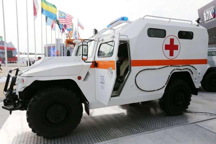 Бронированный медицинский автомобиль (БМА)
