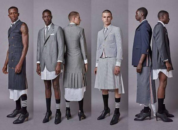 Это есть Мода? Это не мода. Это развращение Народа!
