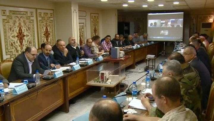 Власти Сирии провели телемост с вооруженной оппозицией