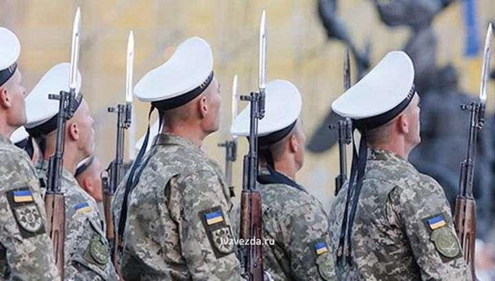 Киевская хунта издевается: морякам дали списанный камуфляж для маскировки в водорослях