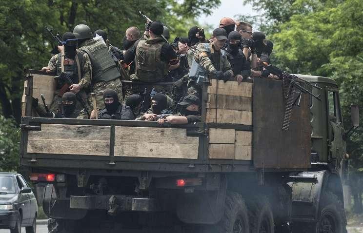 Украинские каратели покидают Мариуполь