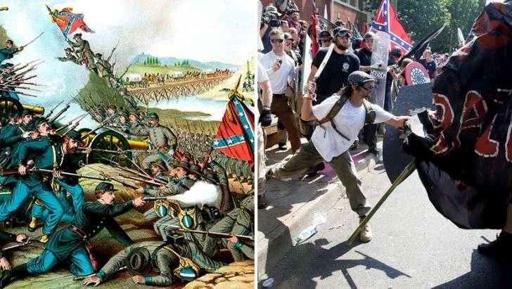 Из-за чего в США Север вновь конфликтует с Югом