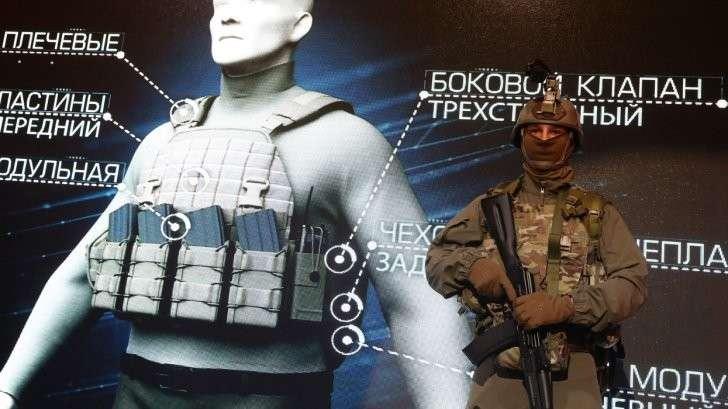 Солдат русской армии будущего: невидим но всё видит, стреляет не целясь но попадает