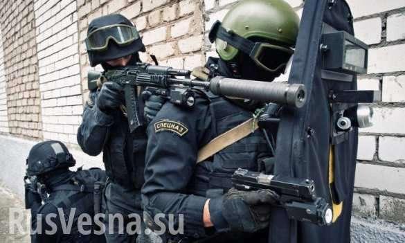 Опубликованы кадры спецоперации поликвидации террористов вДагестане (ВИДЕО) | Русская весна