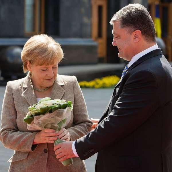 Нюансы визита фрау Меркель в Киев