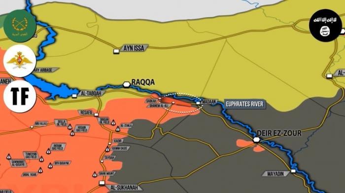Сирии: ВКС России и сирийская армия рвёт наёмников США