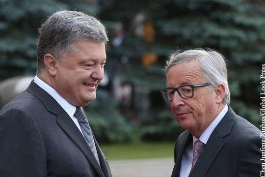 Глава Еврокомисси Клод Юнкер отказался считать Украину частью ЕС