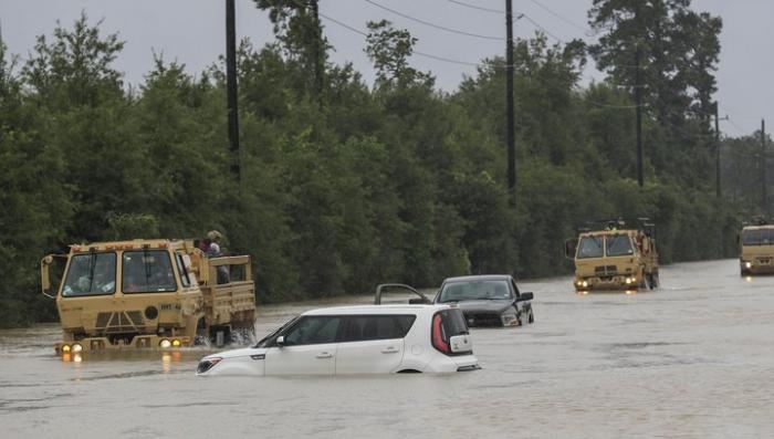В Техасе на смену урагана «Харви» пришёл комендантский час