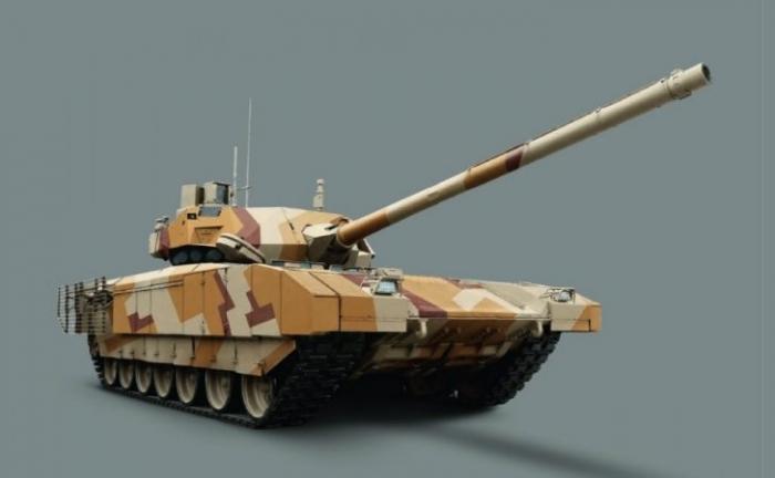 Т-14 «Армата», появилась обновка: когда ближневосточные покупатели получат танк?