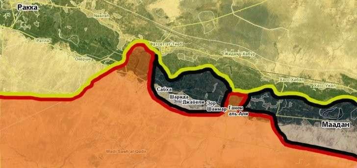 Сирия: начата битва за Дейр эз-Зор, ИГИЛ горит в котлах, Израиль делает повод для бомбежек