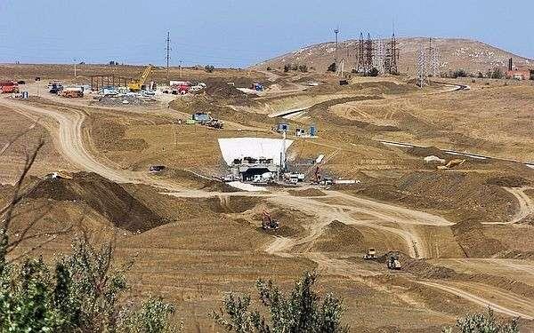 В Крыму полным ходом идёт ещё одна стройка: километровый железнодорожный тоннель