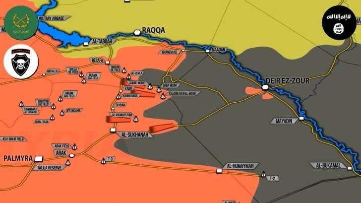 Сирия: наступление правительственной армии, авиаудар США по «карманным» Курдам