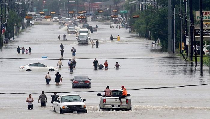 Хьюстон, наводнение: в городе появились мародеры в форме министерства безопасности
