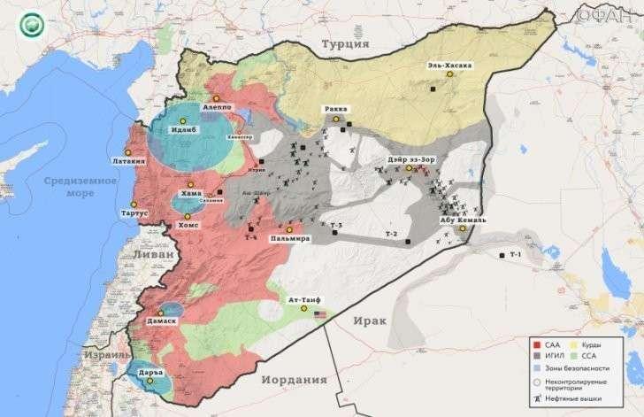 В Сирии пиндосы готовили боевиков ИГИЛ на своей базе в Ат-Танфе