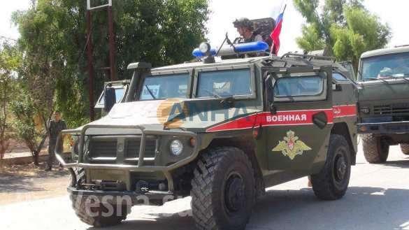 Сирия: колонна российской бронетехники вошла для защиты курдских районов | Русская весна