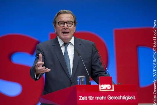 Выборы в Германии: Герхард Шредер в Роснефти нужен больше Лондону чем Владимиру Путину