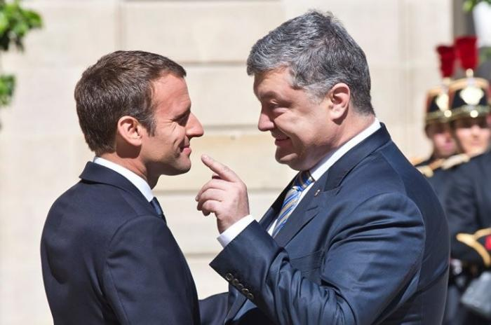 Макрону не нужен Порошенко: на каких условиях Париж готов сдать Киев
