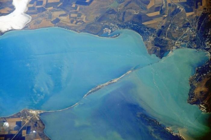Крымыский мост. Уникальные кадры: космонавт опубликовал фото с орбиты МКС