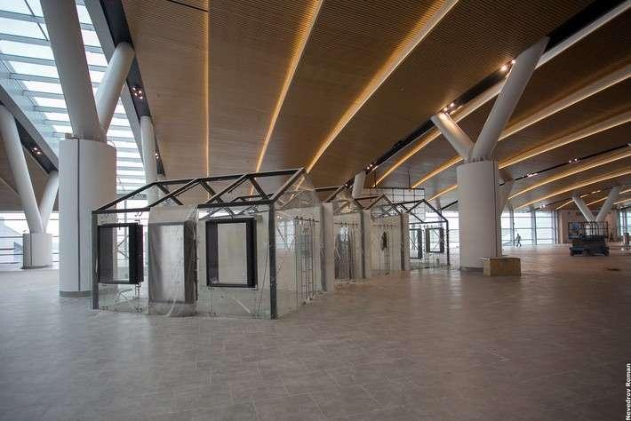 Аэропорт «Платов» затри месяца дооткрытия. Фоторепортаж