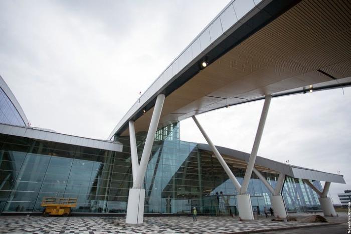 Ростовский аэропорт «Платов» за три месяца до открытия