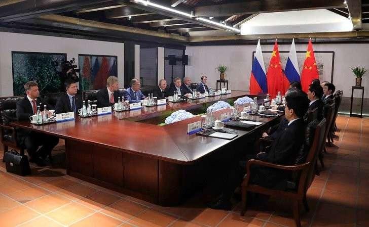 Переговоры сПредседателем Китайской Народной Республики Си Цзиньпином.