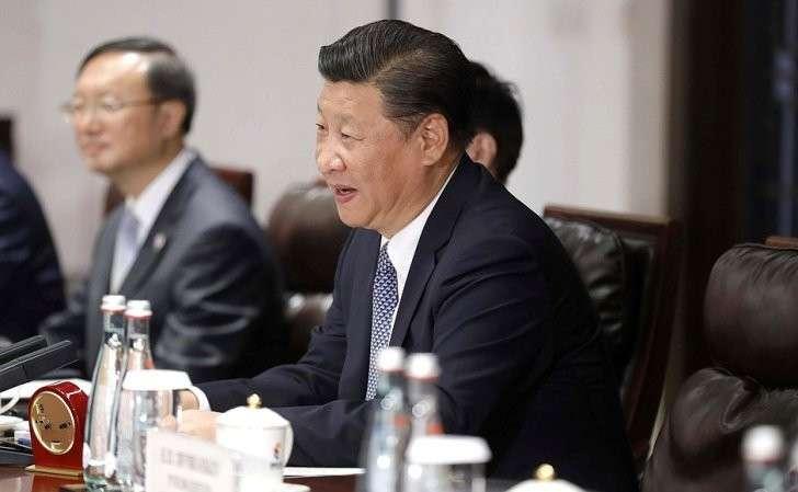 Председатель Китайской Народной Республики Си Цзиньпин.