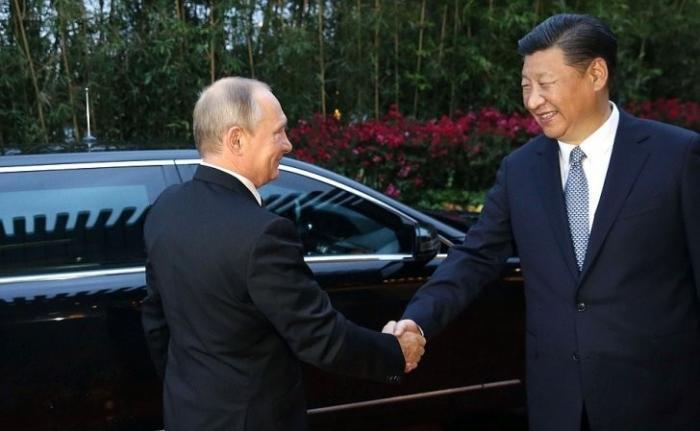 Переговоры Владимира Путина с Председателем КНР Си Цзиньпином