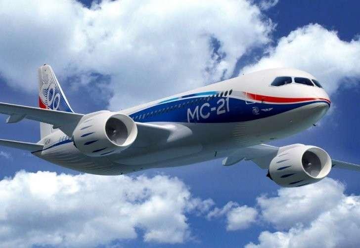 Новый российский самолёт МС-21 – будущее всей мировой авиации