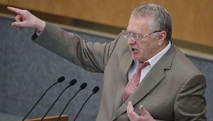Провокатор Жириновский предложил сменить главу МИД России