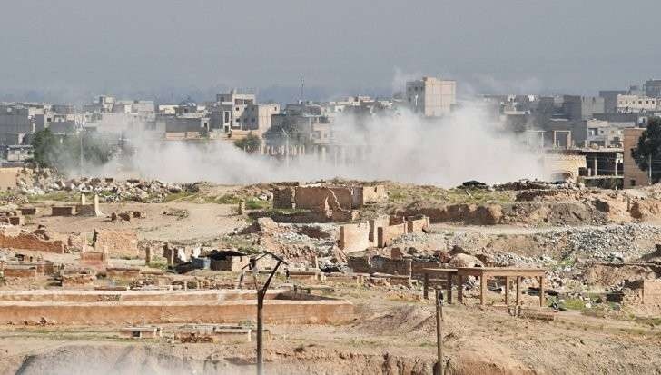 Сирия, Дейр эз Зор: ВКС России уничтожили несколько десятков боевиков