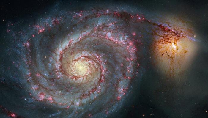 Астрономы считают, что Земля может наполовину состоять из материи чужих галактик