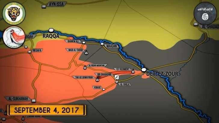 Сирия, Дейр эз Зор: правительственная армия деблокирует сирийский Сталинград