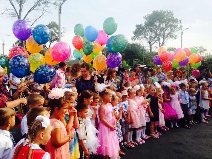 В Приморском крае открылся новый детский сад