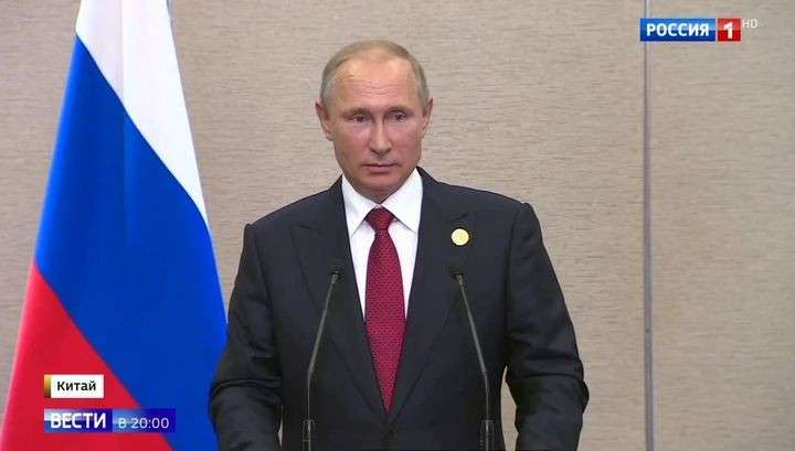Владимир Путин рассказал о манерах США, миротворцах в Донбассе и судьбе Серебренникова