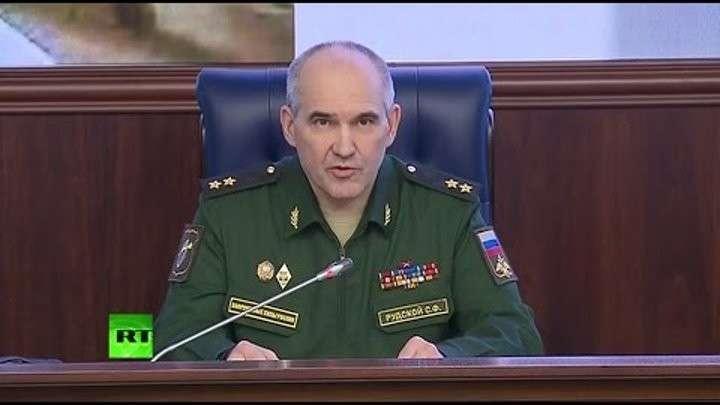 Брифинг Минобороны: ВКС России нанесли 329 ударов по боевикам окружённого Акербата