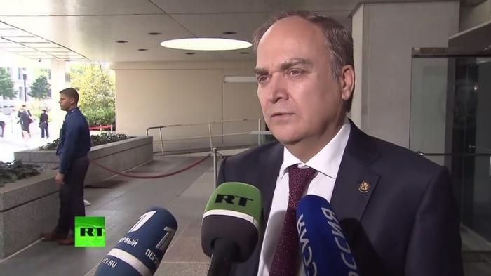 Новый посол России в США Анатолий Антонов рассказал о визите в Госдеп