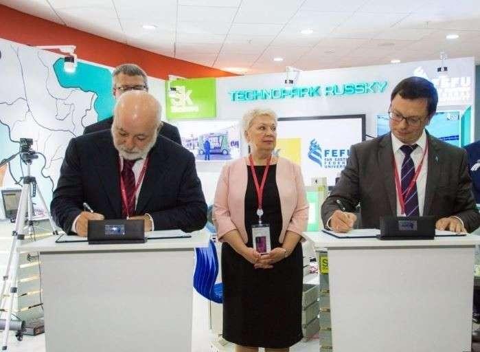 ДВФУ иФонд «Сколково» открыли «Технопарк Русский» вПриморском крае