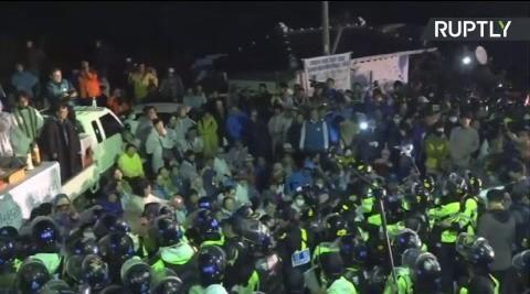 В Южной Корее жители протестуют против размещения американской системы ПРО THAAD