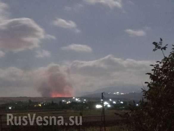 Террористический Израиль нанёс удар по Сирии | Русская весна