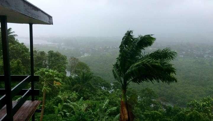 По Кубе ударила буря-предвестница