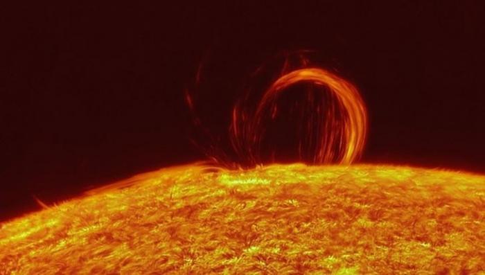 На Солнце произошла новая мощная вспышка